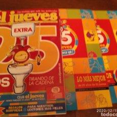 Coleccionismo de Revista El Jueves: EDICIÓN 25 ANIVERSARIO DE LA REVISTA EL JUEVES.. Lote 230915245