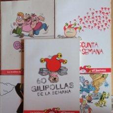 Coleccionismo de Revista El Jueves: LOTE 5 EJEMPLARES DE LOS INÉDITOS DE EL JUEVES. Lote 231973830