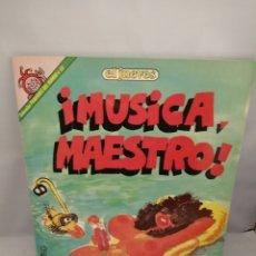 Coleccionismo de Revista El Jueves: MÚSICA MAESTRO (PENDONES DEL HUMOR 59). PERFECTO ESTADO. Lote 232812205