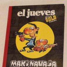 Coleccionismo de Revista El Jueves: LIBRO MAKI NAVAJA EL JUEVES LUXURY GOLD COLLECTION IVÁ AÑO 2008. Lote 233600730