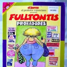 Coleccionismo de Revista El Jueves: COLECCIÓN PENDONES DEL HUMOR Nº 143 - EL PROFESOR COJONCIANO - FULLTONTIS - EDICIONES EL JUEVES 1992. Lote 234630555