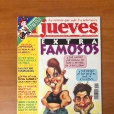 Coleccionismo de Revista El Jueves: EL JUEVES, AÑO XX DEL 22 AL 28 DE MAYO DE 1996, NUMERO 991, EXTRA FAMOSOS, (EDICIONES EL JUEVES). Lote 234602590