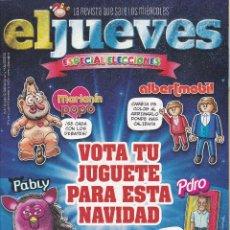 Coleccionismo de Revista El Jueves: REVISTA EL JUEVES NÚMERO 2011 (2015) ESPECIAL ELECCIONES. Lote 234891420