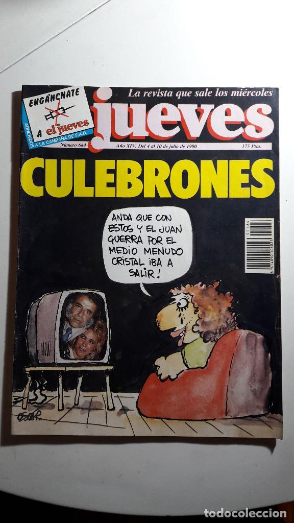 LOTE DE 14 REVISTAS EL JUEVES (Coleccionismo - Revistas y Periódicos Modernos (a partir de 1.940) - Revista El Jueves)