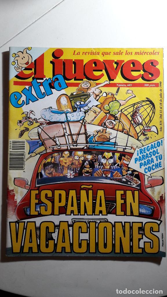 Coleccionismo de Revista El Jueves: Lote de 14 revistas El Jueves - Foto 2 - 234923645