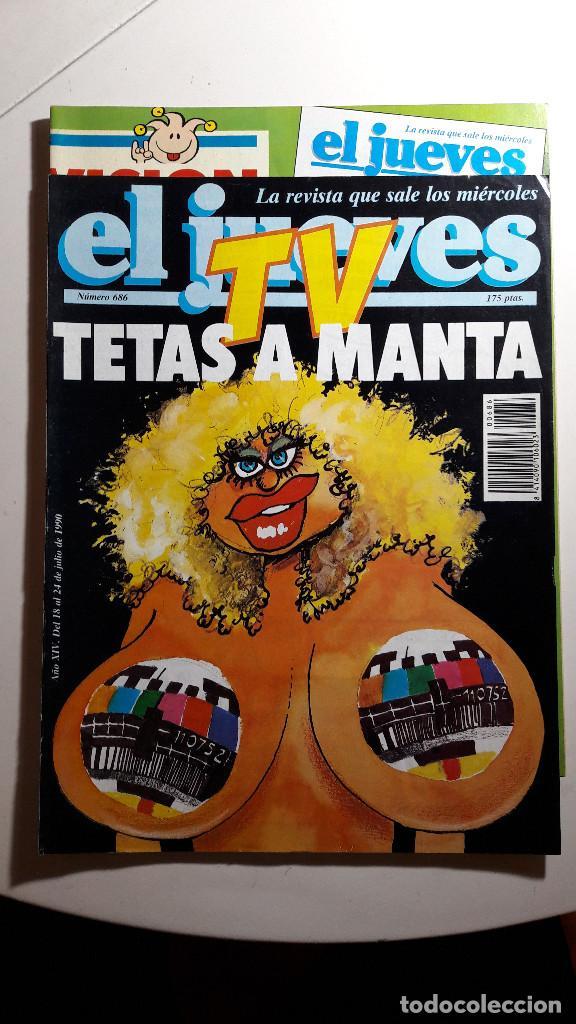 Coleccionismo de Revista El Jueves: Lote de 14 revistas El Jueves - Foto 3 - 234923645