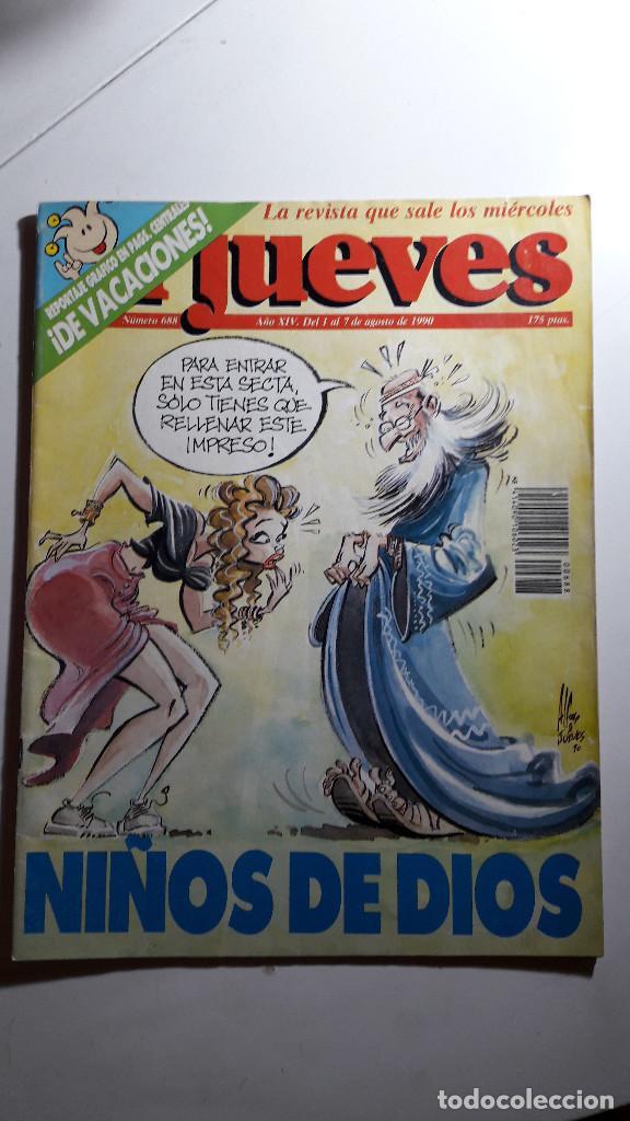 Coleccionismo de Revista El Jueves: Lote de 14 revistas El Jueves - Foto 5 - 234923645