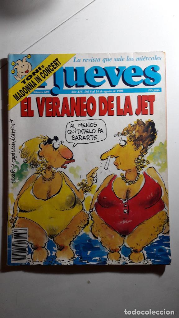 Coleccionismo de Revista El Jueves: Lote de 14 revistas El Jueves - Foto 6 - 234923645