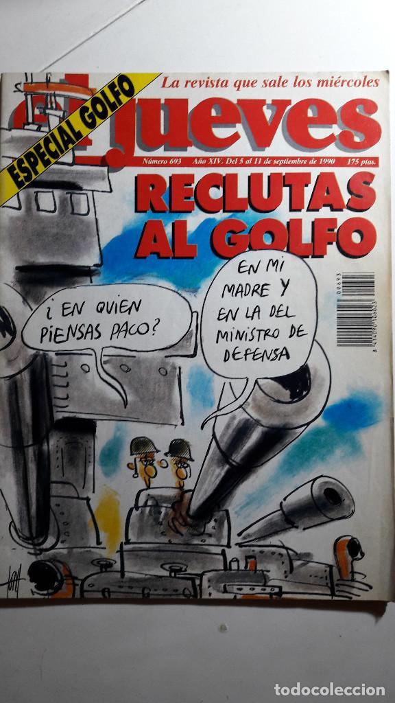 Coleccionismo de Revista El Jueves: Lote de 14 revistas El Jueves - Foto 8 - 234923645