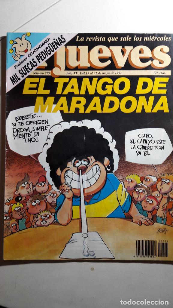 Coleccionismo de Revista El Jueves: Lote de 14 revistas El Jueves - Foto 9 - 234923645
