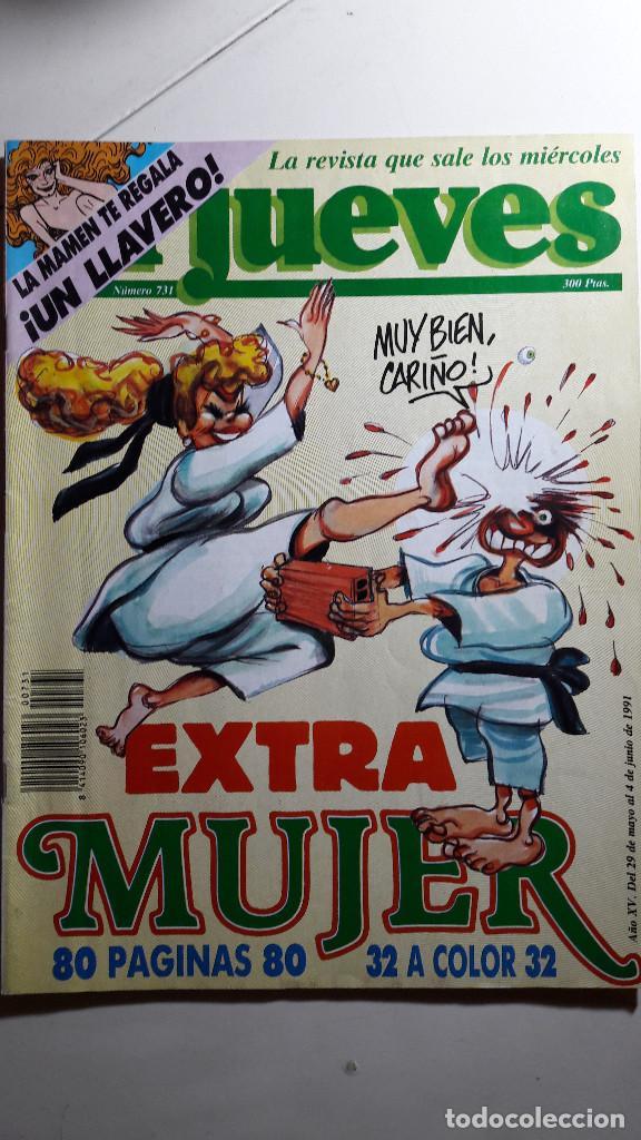 Coleccionismo de Revista El Jueves: Lote de 14 revistas El Jueves - Foto 10 - 234923645