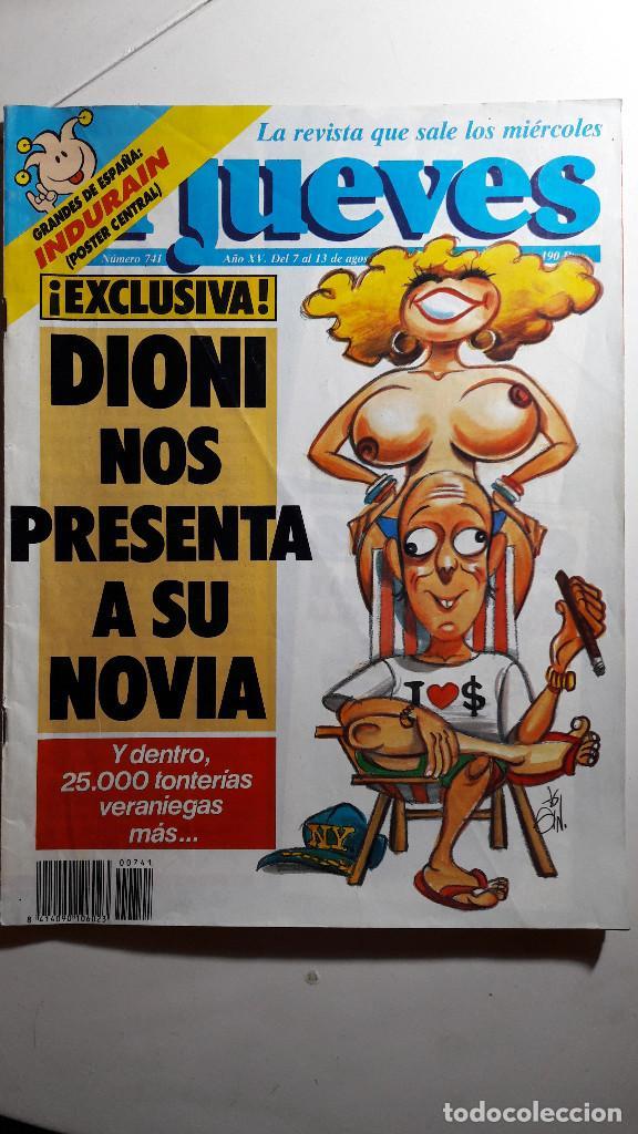 Coleccionismo de Revista El Jueves: Lote de 14 revistas El Jueves - Foto 11 - 234923645