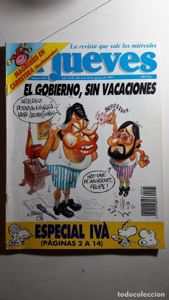Coleccionismo de Revista El Jueves: Lote de 14 revistas El Jueves - Foto 13 - 234923645
