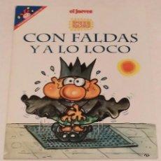 Coleccionismo de Revista El Jueves: PENDONES DEL HUMOR 138 - PUTICLUB. CON FALDAS Y A LO LOCO - EL JUEVES -64 PAGS. AÑO 1997. Lote 235382415