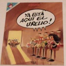 Coleccionismo de Revista El Jueves: PENDONES DEL HUMOR 113 - YA ESTA AQUI EL URELIO - EL JUEVES AÑO 1994. Lote 235382915