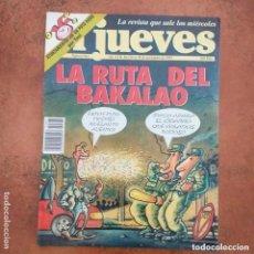 Coleccionismo de Revista El Jueves: EL JUEVES NUM 861. LA RUTA DEL BAKALAO. Lote 235631450