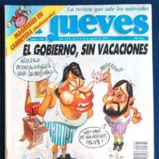 Coleccionismo de Revista El Jueves: EL JUEVES NÚMERO 845 DEL 4-AL 10 AGOSTO DE 1993 ESPECIAL IVÀ. Lote 235804855