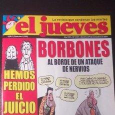 """Coleccionismo de Revista El Jueves: REVISTA * * EL JUEVES ** """"BORBONES ** Nº 1591. NOVIEMBRE 2007.. Lote 236061030"""