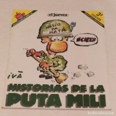 Coleccionismo de Revista El Jueves: PENDONES DEL HUMOR Nº 33 -HISTORIAS DE LA PUTA MILI- NASIO PA MATÁ! -EL JUEVES AÑO 1999. Lote 236211725