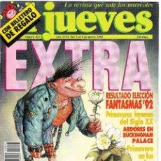 Coleccionismo de Revista El Jueves: EL JUEVES - Nº 823 EXTRA - 3 AL 9 MARZO 1993 - POSTER YA ES PRIMAVERA EN EL JUEVES. Lote 236219260