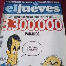 Coleccionismo de Revista El Jueves: EL JUEVES. AÑO XXXII. Nº 1655. 2009. Lote 236507935