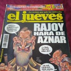 Coleccionismo de Revista El Jueves: EL JUEVES. AÑO XXVI. Nº 1372. 2003. Lote 236515230