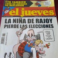 Coleccionismo de Revista El Jueves: EL JUEVES. AÑO XXXI. Nº 1607. 2008. Lote 236517325
