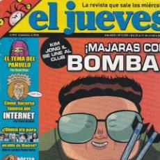 Coleccionismo de Revista El Jueves: REVISTA EL JUEVES NÚMERO 1535 (2006) !MAJARAS CON BOMBA!.. Lote 236519770