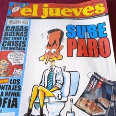 Coleccionismo de Revista El Jueves: EL JUEVES. AÑO XXXI. Nº 1642. 2008. Lote 236523095