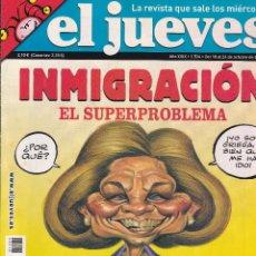 Coleccionismo de Revista El Jueves: REVISTA EL JUEVES NÚMERO 1534 (2006) INMIGRACION EL SUPERPROBLEMA. Lote 236523920