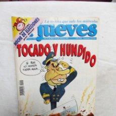 Collectionnisme de Magazine El Jueves: REVISTA EL JUEVES Nº 940MAYO - JUNIO 1995 TOCADO Y HUNDIDO. Lote 237740420