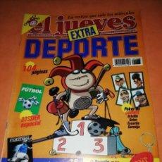 Coleccionismo de Revista El Jueves: EL JUEVES. EXTRA DEPORTE. Nº 1166.. Lote 237906560