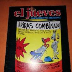 Coleccionismo de Revista El Jueves: EL JUEVES. SUPLEMENTO MENSUAL. PARIDAS COMBINADAS. TOM. 1981. Lote 237912680