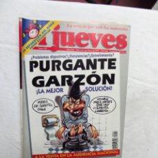 Collectionnisme de Magazine El Jueves: REVISTA EL JUEVES Nº 927 MARZO 1995 PURGANTE GARZON. Lote 238063430