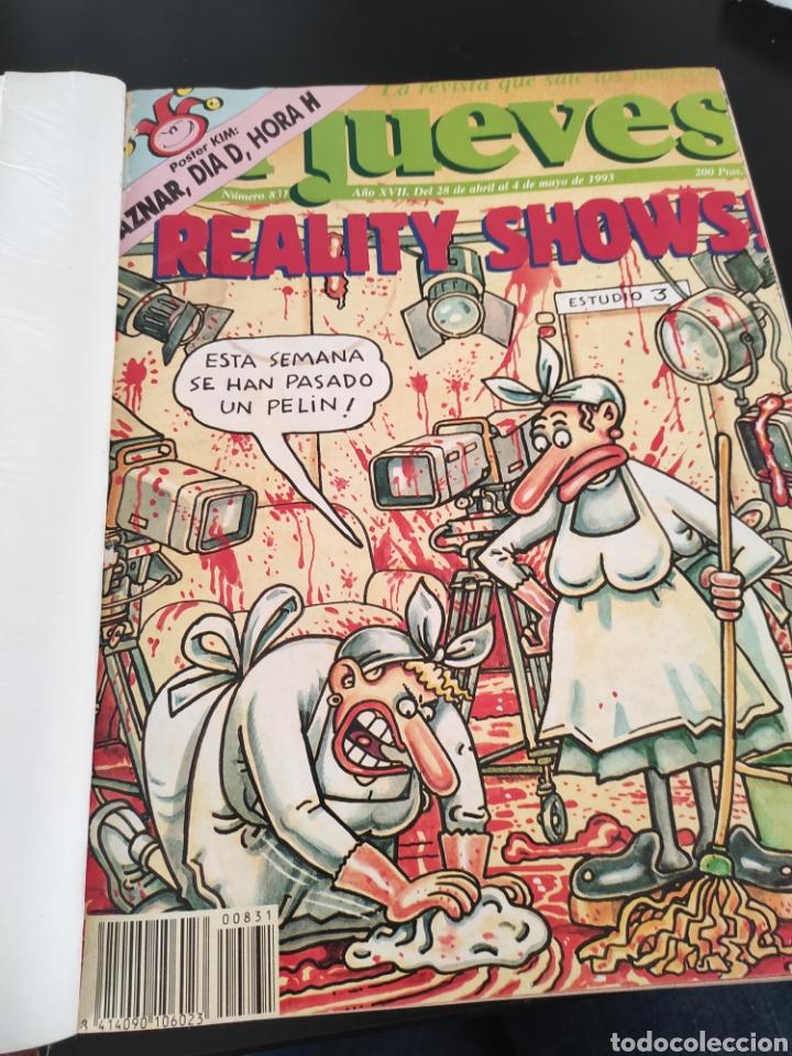 Coleccionismo de Revista El Jueves: Libro coleccionista EL JUEVES comics, posters,... 1993 - Foto 2 - 189078807