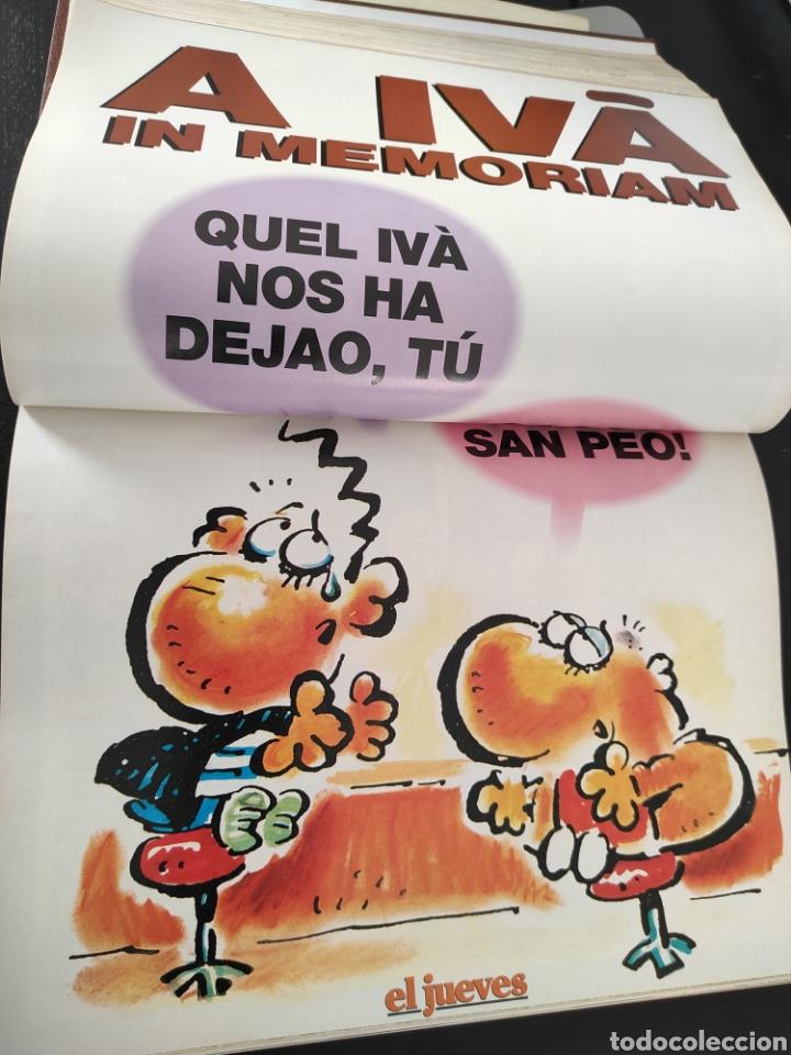 Coleccionismo de Revista El Jueves: Libro coleccionista EL JUEVES comics, posters,... 1993 - Foto 4 - 189078807