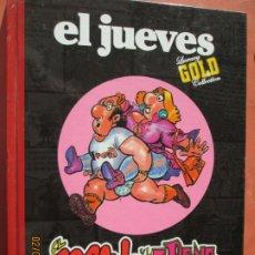 Colecionismo da Revista El Jueves: EL JUEVES. LUXURY GOLD COLLECTION: EL MANOLO Y LA IRENE - MANEL FERRER - RBA 2008.. Lote 238857310
