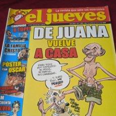 Coleccionismo de Revista El Jueves: EL JUEVES. AÑO XXX. Nº 1555. 2007. Lote 240159015