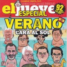 Coleccionismo de Revista El Jueves: REVISTA EL JUEVES NÚMERO 2147. VERANO CARA AL SOL.. Lote 240877530