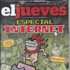 Coleccionismo de Revista El Jueves: REVISTA EL JUEVES NÚMERO 2023. ESPECIAL INTERNET.. Lote 240879040