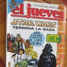 Collectionnisme de Magazine El Jueves: EL JUEVES LA REVISTA QUE SALE LOS MIERCOLES Nº 1462 - JUNIO 2005 - STAR WARS TERMINA LA SAGA. Lote 243267875
