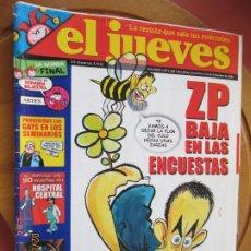 Collectionnisme de Magazine El Jueves: EL JUEVES LA REVISTA QUE SALE LOS MIERCOLES Nº 1488 - DICIEMBRE 2005 - ZP BAJA EN LAS ENCUESTAS. Lote 243276760