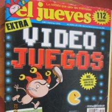 Collectionnisme de Magazine El Jueves: EL JUEVES LA REVISTA QUE SALE LOS MIERCOLES Nº 1490 - DICIEMBRE 2005 -EXTRA VIDEO JUEGOS. Lote 243277270