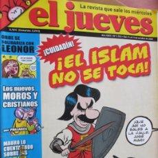 Collectionnisme de Magazine El Jueves: EL JUEVES LA REVISTA QUE SALE LOS MIERCOLES Nº 1533- OCTUBRE 2006 - EL ISLAM NO SE TOCA. Lote 243487705