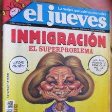 Collectionnisme de Magazine El Jueves: EL JUEVES LA REVISTA QUE SALE LOS MIERCOLES Nº 1534 - OCTUBRE 2016 - INMIGRACION. Lote 243487860