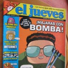 Collectionnisme de Magazine El Jueves: EL JUEVES LA REVISTA QUE SALE LOS MIERCOLES Nº 1535 - OCTUBRE 2006 - MAJARAS CON BOMBA. Lote 243488010