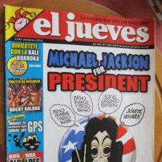 Collectionnisme de Magazine El Jueves: EL JUEVES LA REVISTA QUE SALE LOS MIERCOLES Nº 1549 - ENERO 2007 . MICHAEL JACKSON. Lote 243488500