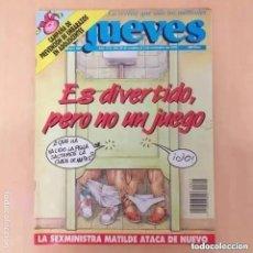 Coleccionismo de Revista El Jueves: EL JUEVES NUM 805. ES DIVERTIDO, PERO NO ES UN JUEGO.. Lote 244005830