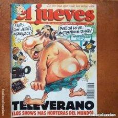 Coleccionismo de Revista El Jueves: EL JUEVES NUM 738. TELEVERANO. Lote 244400540
