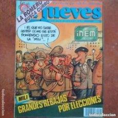 Coleccionismo de Revista El Jueves: EL JUEVES NUM 645. MILI. GRANDES REBAJAS POR ELECCIONES. Lote 244402345